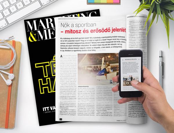 Nők a sportban – mítosz és erősödő jelenlét – Marketing&Média cikk