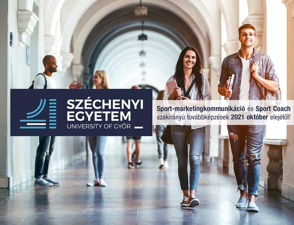 Sport-marketingkommunikáció és Sport Coach szakirányú továbbképzések október elején indulnak és két féléves ciklusban szerzik meg tudásuk a jövő sportszakemberei.